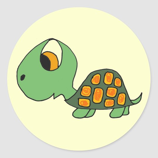 CB- Cartoon Turtle Stickers