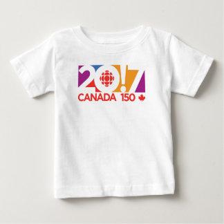 CBC/Radio-Canada 2017 Logo Baby T-Shirt