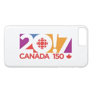 CBC/Radio-Canada 2017 Logo iPhone 8 Plus/7 Plus Case