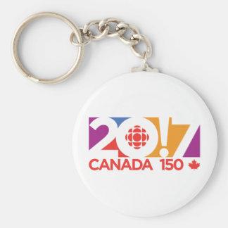 CBC/Radio-Canada 2017 Logo Key Ring