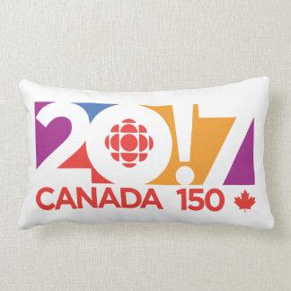 CBC/Radio-Canada 2017 Logo Lumbar Cushion