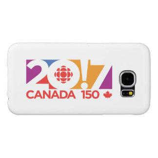 CBC/Radio-Canada 2017 Logo Samsung Galaxy S6 Cases