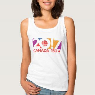 CBC/Radio-Canada 2017 Logo Tank Top