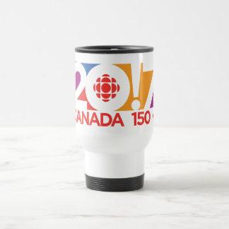CBC/Radio-Canada 2017 Logo Travel Mug