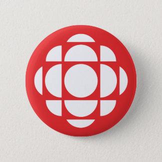 CBC/Radio-Canada Gem 6 Cm Round Badge