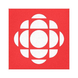 CBC/Radio-Canada Gem Canvas Print
