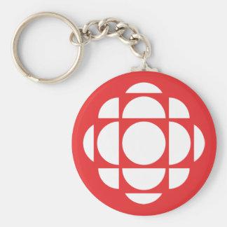 CBC/Radio-Canada Gem Key Ring