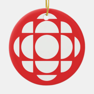 CBC/Radio-Canada Gem Round Ceramic Decoration