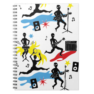 CBG Ninja Band Notebook