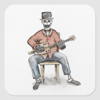 CBG Skeleton Square Sticker