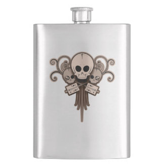 CBG Skulls 'n Swirls Flasks