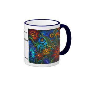 CBjork Avatar Floral Design Coffee Mugs