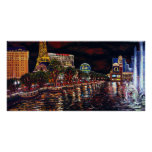 CBjork Las Vegas water show Poster