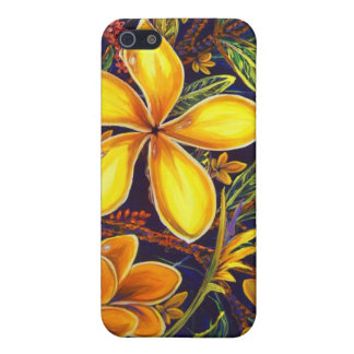 CBjork Yellow Island Plumeria Art iPhone 5/5S Case
