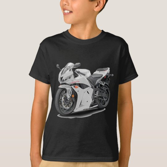 CBR 600 White Bike T-Shirt