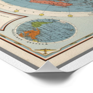 CBS American School of the Air | Map of the World Poster