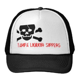 CC0029, TAMPA LIQUOR SIPPERS CAP