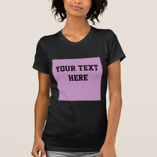 CC99CC Solid Color Lavender Background Template T-shirt