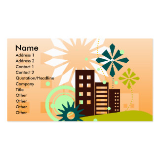 CC-025.ai, Name, Address 1, Address 2, Contact ... Pack Of Standard Business Cards