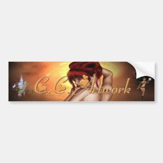 CC Artwork Bumpersticker Bumper Sticker