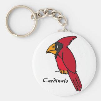 CC- Cardinals Cartoon Keychain