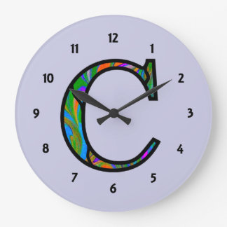 Cc Illuminated Monogram Wall Clocks
