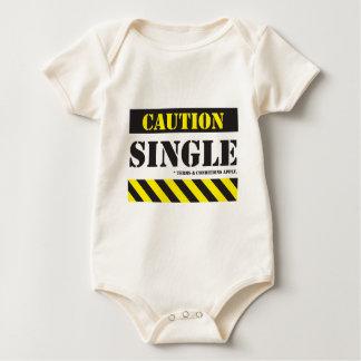 CCAU004S4 - caution single with tc.pdf Baby Bodysuit