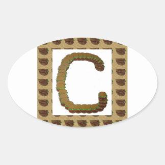 ccc ALPHA Alphabet design:  Identity ID Mark Stickers