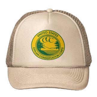 CCC Civilian Conservation Corps Commemorative Cap