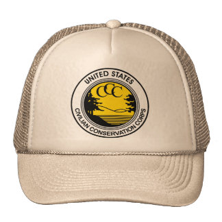 CCC Civilian Conservation Corps Tribute Cap