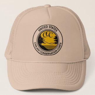 CCC Civilian Conservation Corps Tribute Trucker Hat