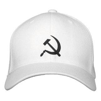 CCCP Серп и Молот Sickle & Hammer ロシア Embroidered Baseball Cap
