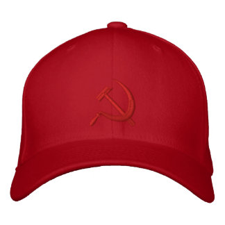CCCP Серп и Молот Sickle & Hammer ロシア Embroidered Embroidered Baseball Caps