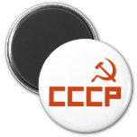 CCCP 6 CM ROUND MAGNET