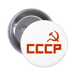 CCCP 6 CM ROUND BADGE