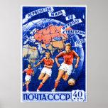 CCCP Football Poster