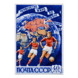 CCCP Football Posters