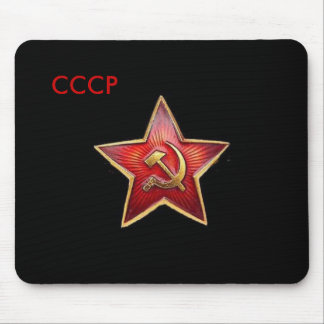 CCCP Red Star Mousepad