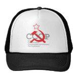 CCCP_red Trucker Hat