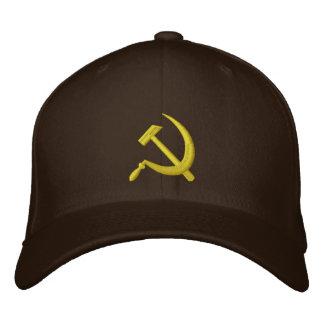 CCCP Soviet Sickle & Hammer Hat Embroidered Baseball Cap