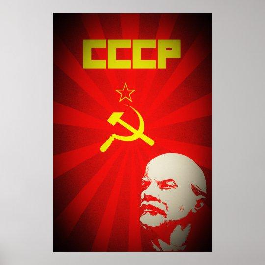 cccp soviet union communist red lenin russia propa