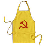 cccp ussr hammer and sickle apron