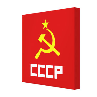 CCCP Wrapped Canvas