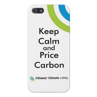 "CCL ""Keep Calm"" iPhone 5/5S Case"