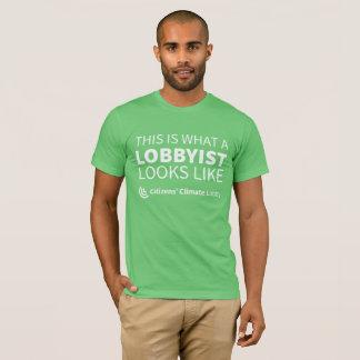 CCL Lobbyist Men's Green T-Shirt
