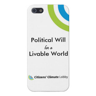 "CCL ""Political Will"" iPhone 5/5S Case"