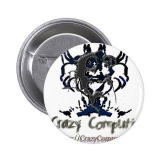 cclogo 6 cm round badge