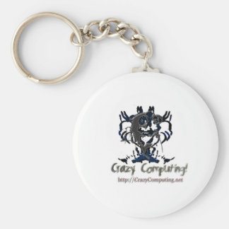 cclogo basic round button key ring