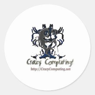 cclogo classic round sticker