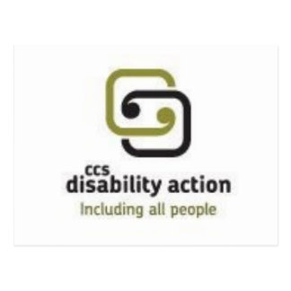 CCS Disability Action Postcard